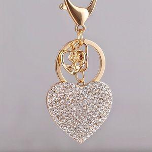Accessories - 🌟SPARKLING DIAMOND HEART KEYCHAIN